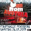 I am from Austria - live in Penzberg am 26.01.2019